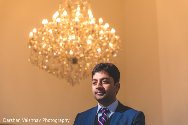 Charming indian groom photography