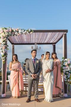 Maharani and Maharaja wedding ceremony.
