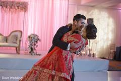 Tender indian bride and groom shot