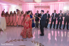 Indian lovebirds showing some dance moves