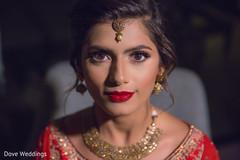 Beautiful indian bride portrait
