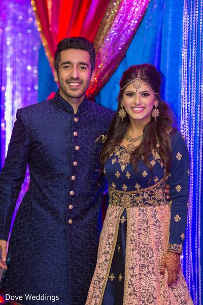 Gorgeous indian couple's portrait