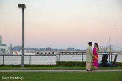 Sensational outdoor themed indian bride and groom photo session