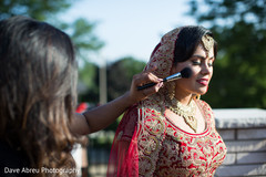 indian wedding gallery,outdoor photography,indian bride jewelry,indian bride getting ready
