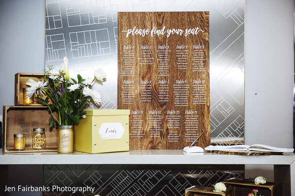 Indian wedding reception seating chart