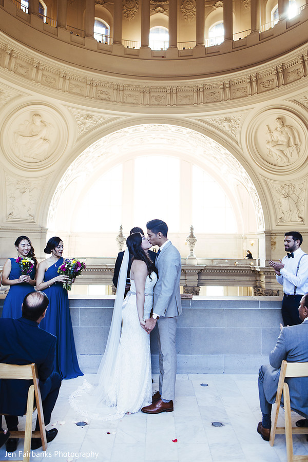See this romantic christian indian wedding ceremony