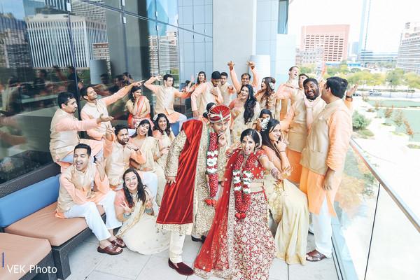Fun Indian wedding.