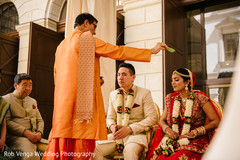 Traditional Indian wedding ceremony ritual.