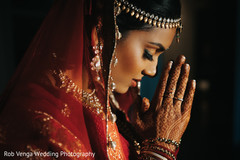 Dazzling indian bride.