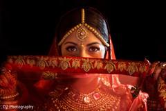 Amazing indian bride portrait