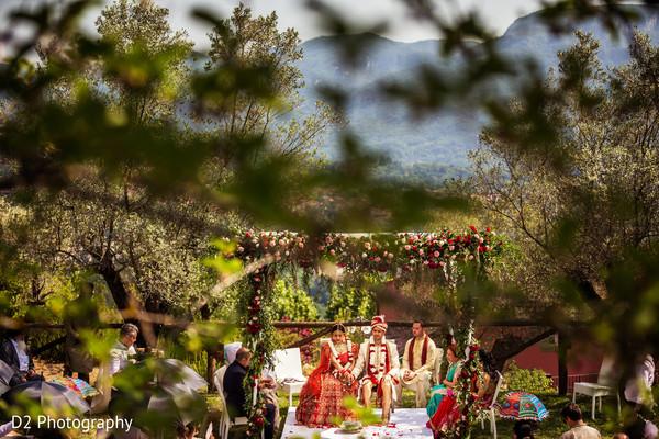 Stunning indian wedding ceremony