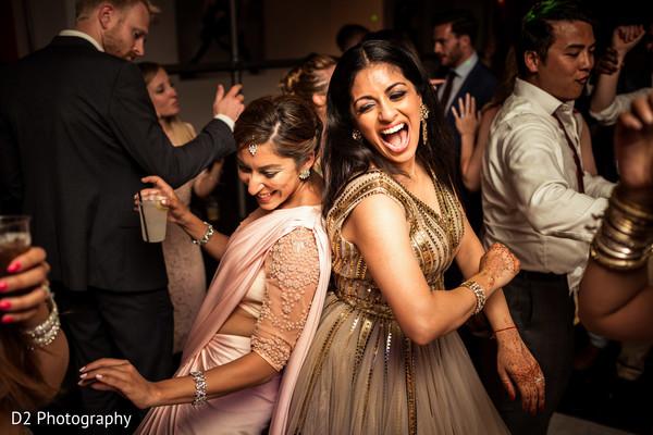 Maharani rocking the dance floor