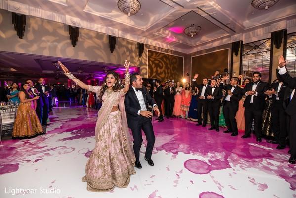 Indian newlyweds rocking the dance floor
