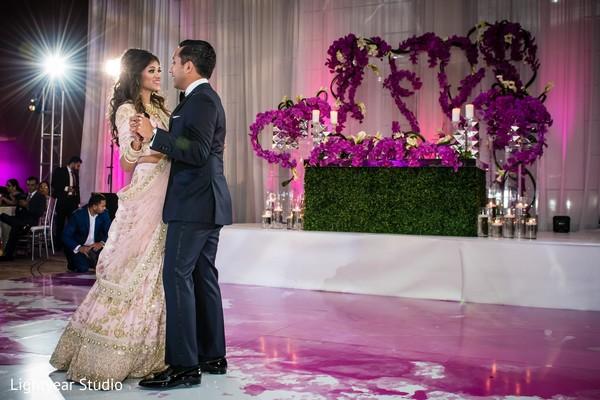 Gorgeos indian wedding sweethearts stage