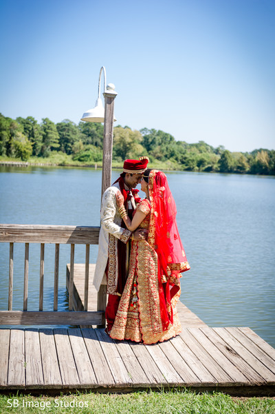 Creative indian couple's photo session in Montgomery, Texas Indian Wedding by SB Image Studios