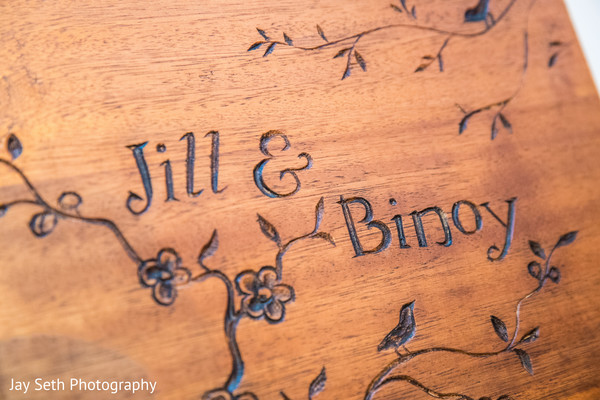 Indian couple personalized details