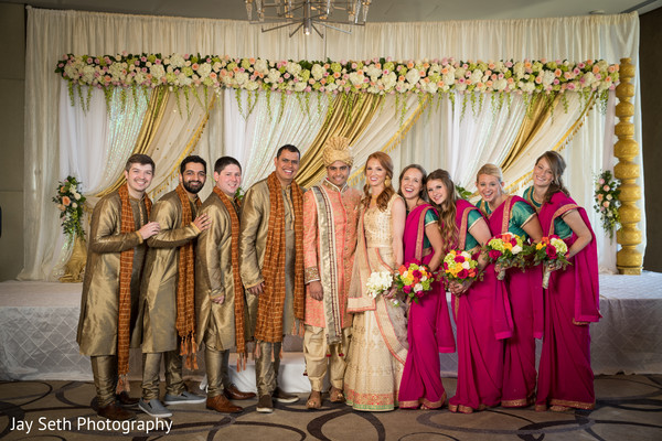 indian bride lengha,indian bridesmaids fashion