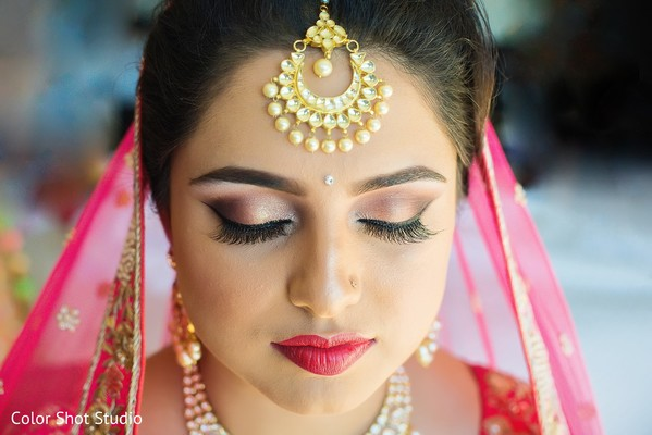 indian wedding gallery,bridal tikka,indian bridal makeup