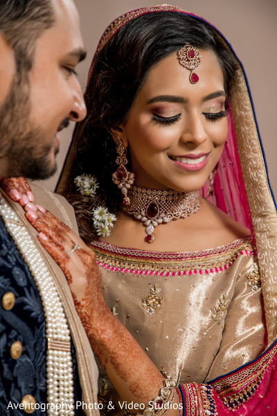 indian bride hair and makeup,indian bride,indian jewelry