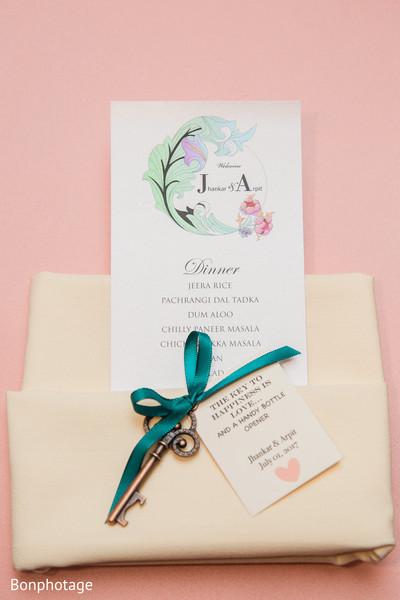 Dazzling indian wedding invitations.