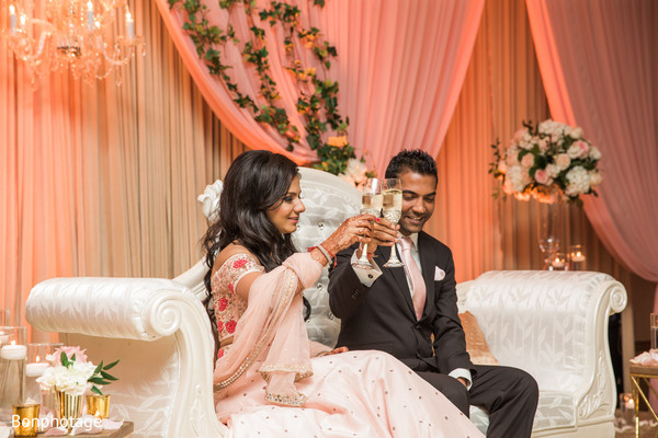 Indian wedding toast
