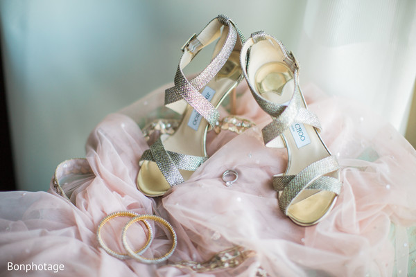 Gorgeous bridal jimmy choo shoes