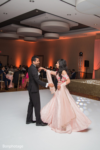 indian wedding,dance floor,bridal lengha