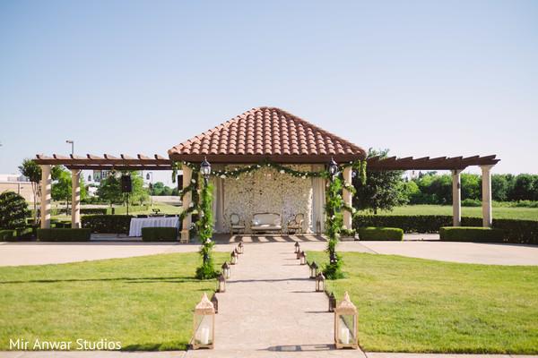 Indian wedding ceremony venue