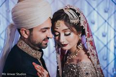 Indian newlyweds heartfelt moment