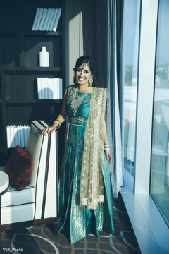 Gorgeous indian bride's photography