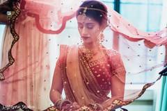 Indian bridal ghoonghat