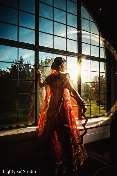 Wonderful indian bride's photo shoot