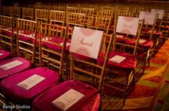 Indian wedding ceremony chairs decor