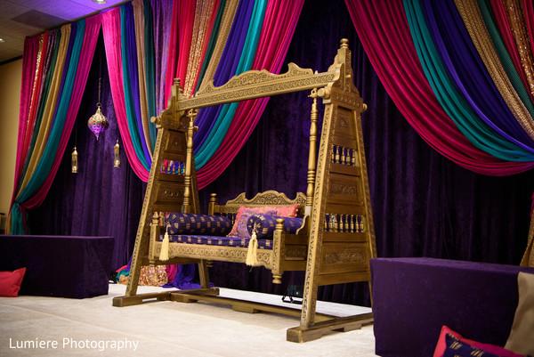 indian mandap,sangeet mandap,indian pre-wedding decorations,indian wedding sofa