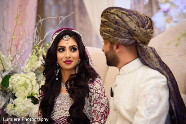 indian bride and groom,inidan wedding ceremony,indian wedding celebration,indian wedding fashion