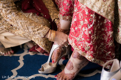 indian wedding gallery,indian bride getting ready,mehndi art,bridal shoes