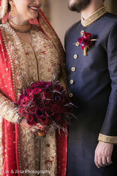 Fantastic indian bride and groom's wedding style