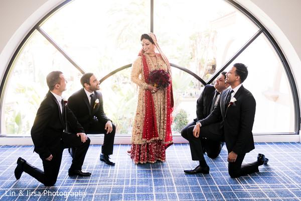 indian wedding gallery,indian bride,indian groomsmen