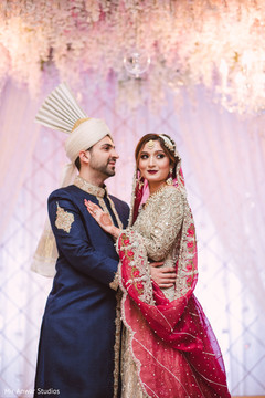 Phenomenal indian bride and groom's photo shoot
