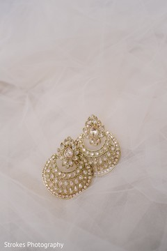Fabulous indian bride's earrings