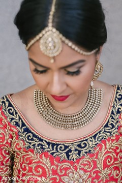 Glamorous indian bridal jewelry