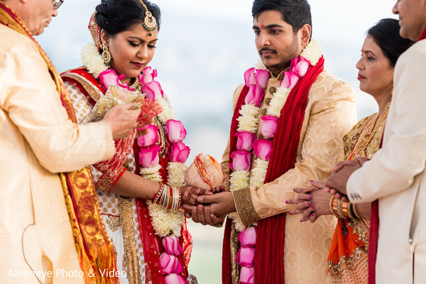 Lovely indian wedding ceremony moments