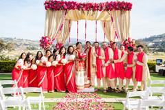 bridal sari,indian bridesmaids fashion