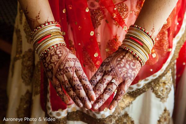 Indian bride mehndi designs