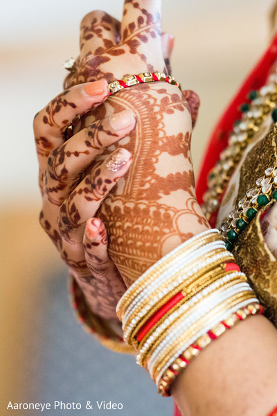 Beautiful indian bride bangles
