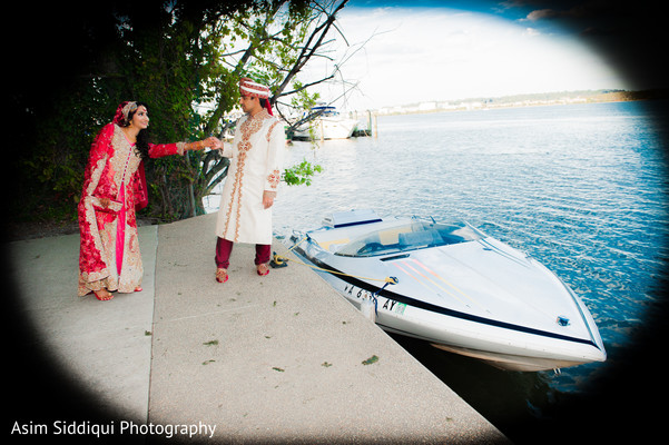 Creative indian couple capture
