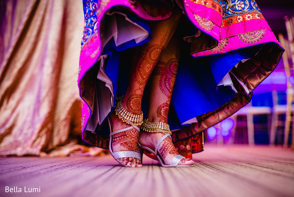 pre- wedding celebrations,sangeet,indian wedding gallery,indian bride,bridal shoes