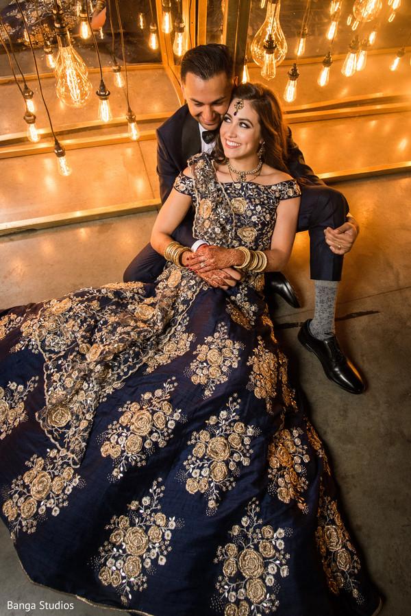 Marvelous Indian Bride Reception Gown Photo 162034
