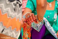 Indian wedding haldi