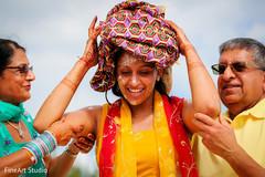 Indian wedding haldi ceremony capture
